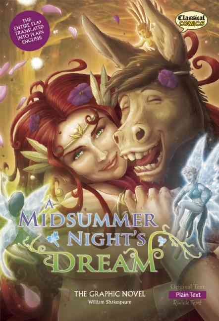 A Midsummer Night's Dream By Shakespeare, William/ McDonald, John (ADP)/ Nicholson, Kat (ILT)/ Cardy, Jason (ILT)